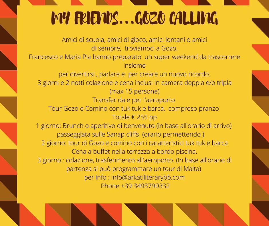 Gozo calling